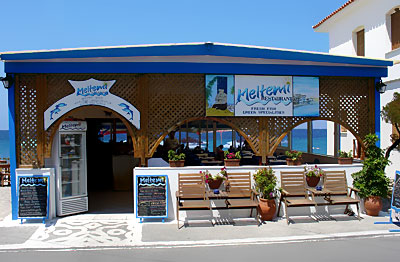 meltemi restaurant >> View of Meltemi Restaurant